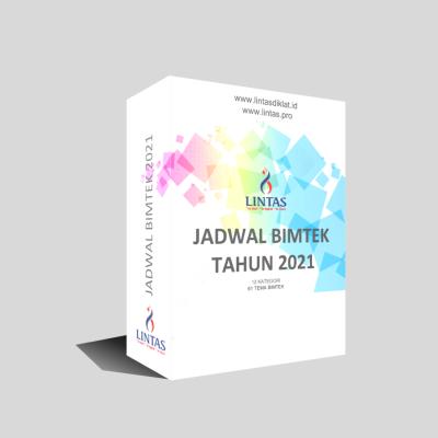 Download Jadwal Bimtek Semester I Tahun 2021