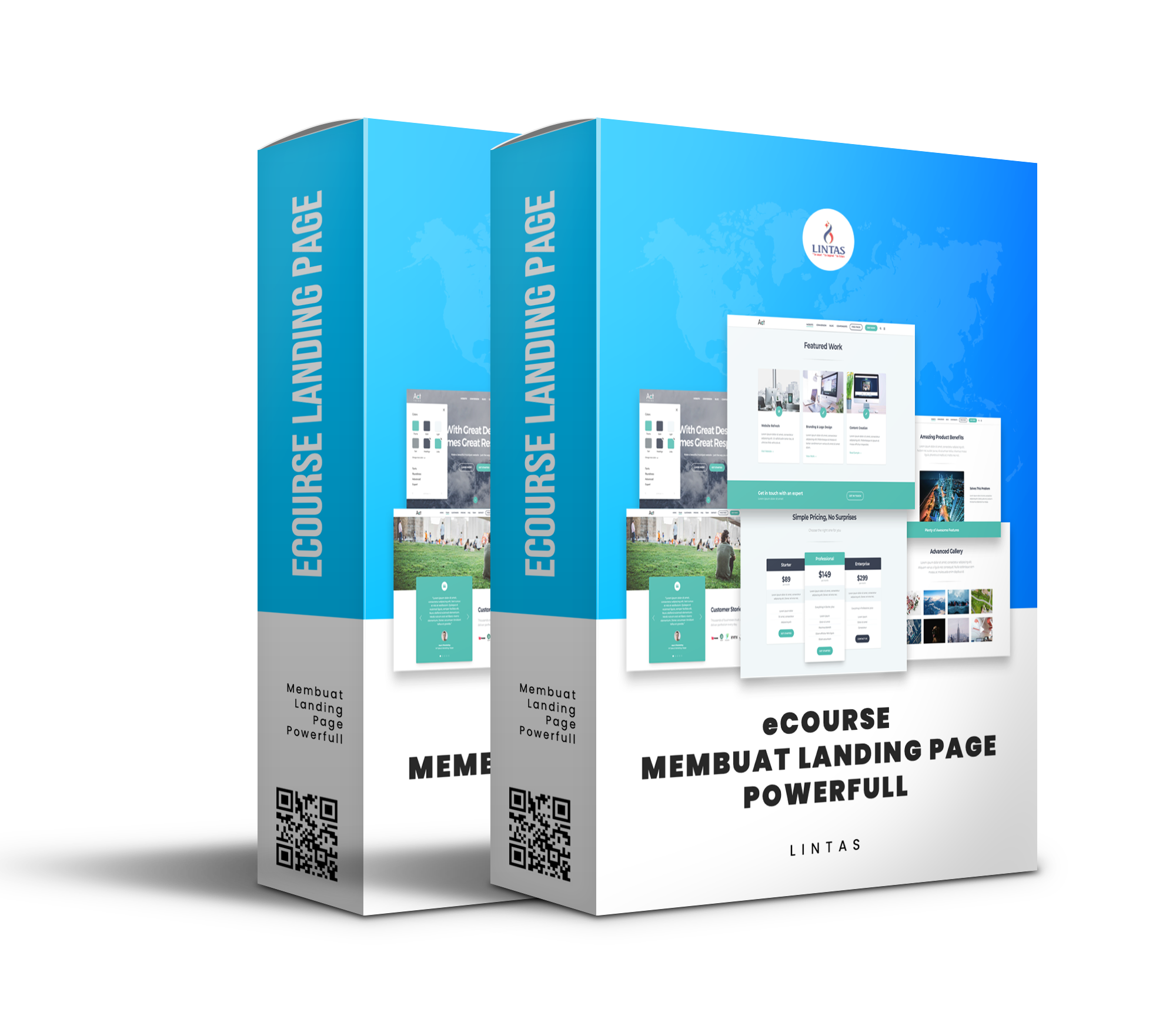 eCourse Membuat Landing Page Powerfull
